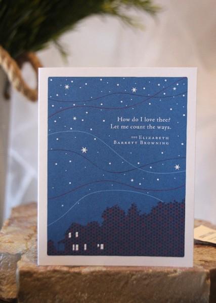 How Do I Love Card