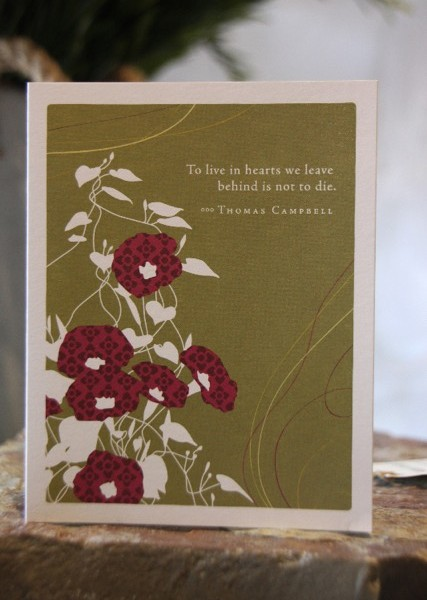 To Live Card