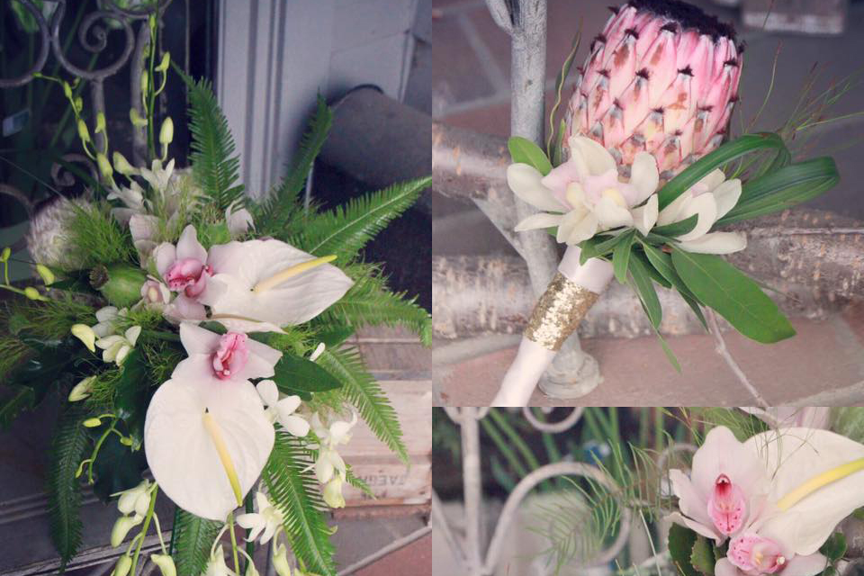 Bridal Bouquets and Boutonnieres